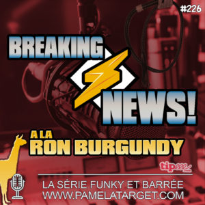 Breaking News à la Ron Burgundy
